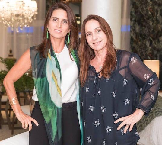 Ana Lúcia Jucá e Mila Albuquerque