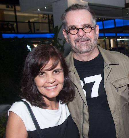 Angela Falcão e Eduardo Machado