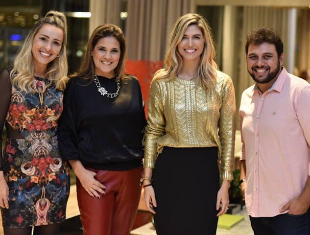 Bethania Delia, Luciana Martins, Aline Celles e Clóvis Alvarenga