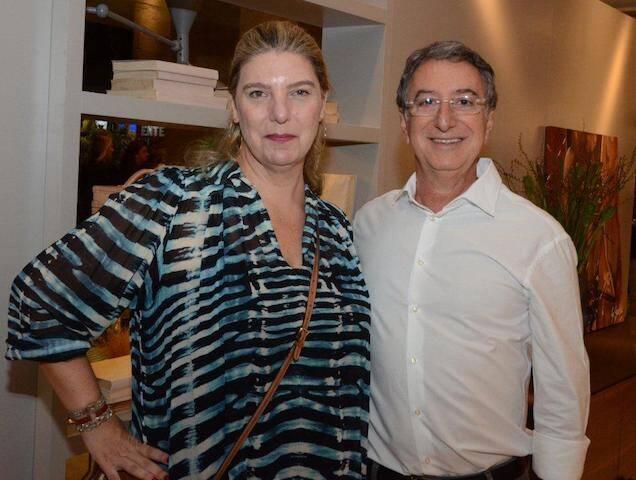 Celina Mello Franco e Salomão Crosman