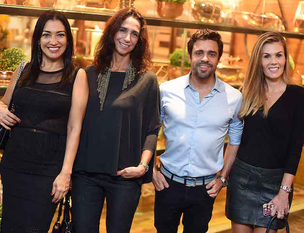 Cristina Cortes, Mabel Graham, Ugo Nitzsche e Juliana Neves de Castro