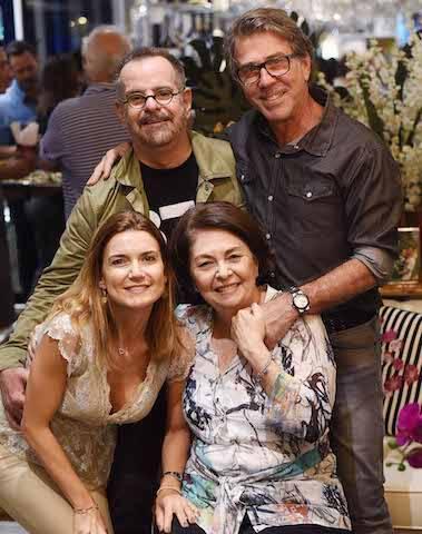 Eduardo Machado, Jairo de Sender, Flávia Marcolini e Suzete Ache