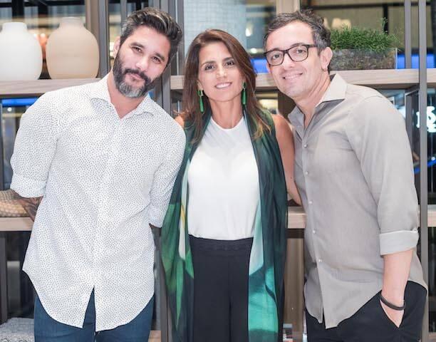 Fábio Bouillet, Ana Lúcia Jucá e RodrigoJorge