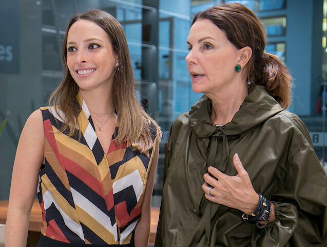 Giselle Rivkind e Patricia Mayer
