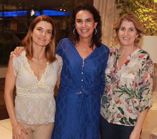 Flávia Marcolini, Joy Garrido e Mara Naves