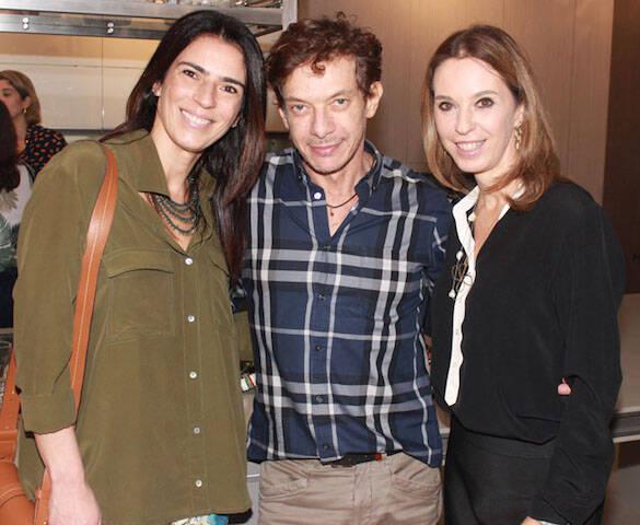 Vanessa Borges, André Piva e Esther Schattan