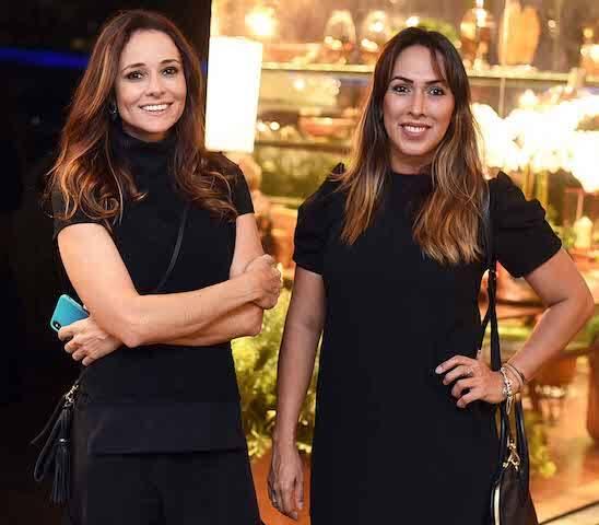Maria Clara Boavista e Andressa Fonseca