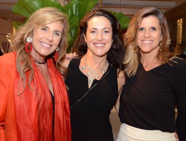 Patricia Hall, Deborah Wilcox e Bárbara Maciel