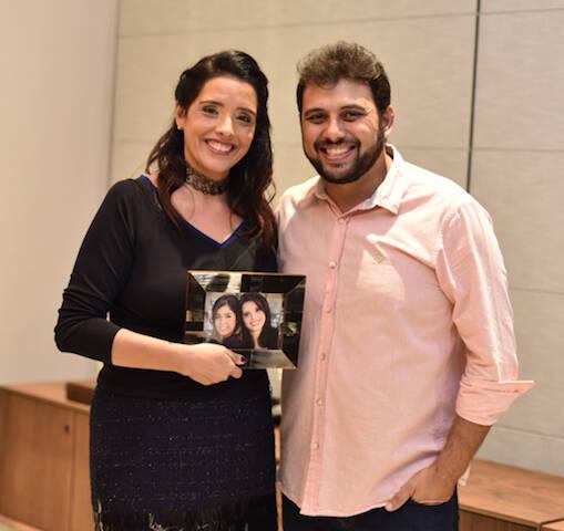 Patricia Malizia e Clovis Alvarenga