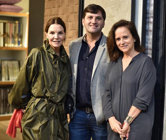 Patricia Mayer, Marcelo Orlean e Patricia Quentel
