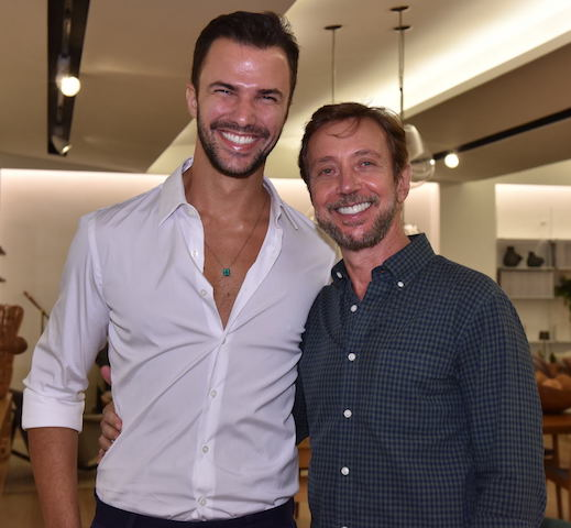 Rodrigo Beze e Nando Grabowsky
