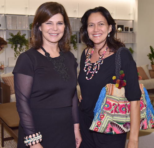 Paula Neder e Andrea Liberal