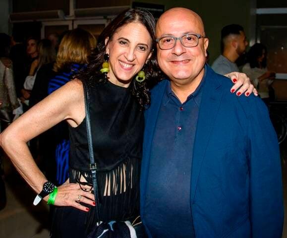 Aniela Jordan e Emílio Kalil