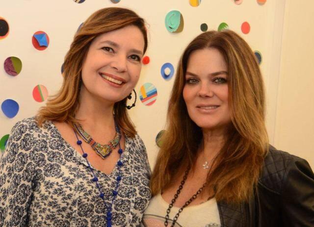 Alice Barbosa Lima e Flávia Curvello
