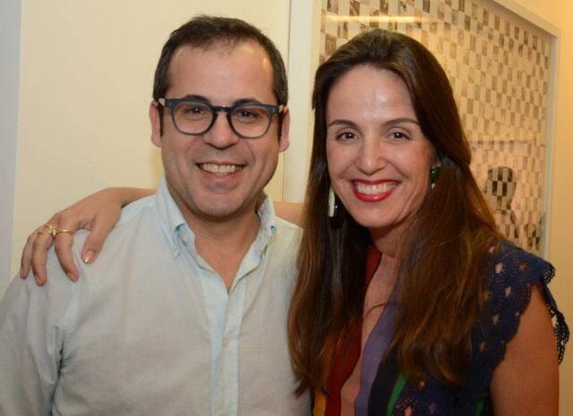 Daniel Roesler e Malu Barreto
