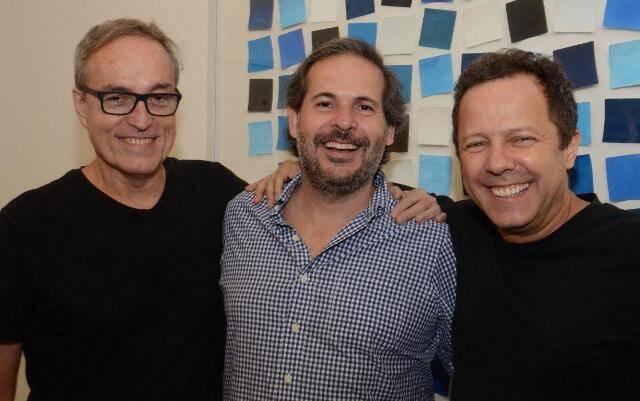 Eduardo Coimbra, Alexandre Roesler e Vik Muniz