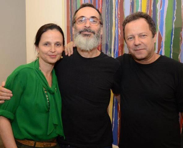 Mari Stockler, Luiz Zerbini e Vik Muniz