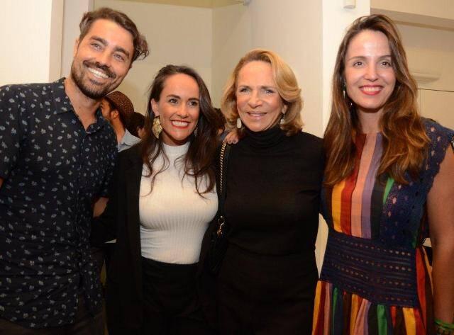 Ricardo e Francisca Pereira, Lenny Niemeyer e Malu Barreto