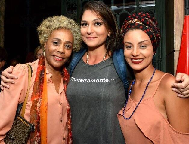 Dhu Moraes, Luiza Guimarães e Gabriela Correa