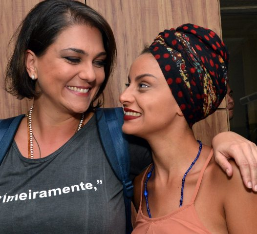 Luiza Guimarães e Gabriela Correa