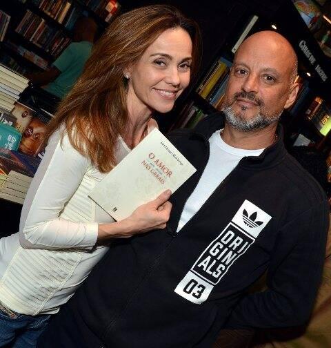 Flávia Monteiro e Avner Saragossy