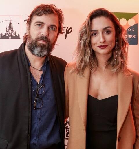Marcelo Faria e Camila Lucciola
