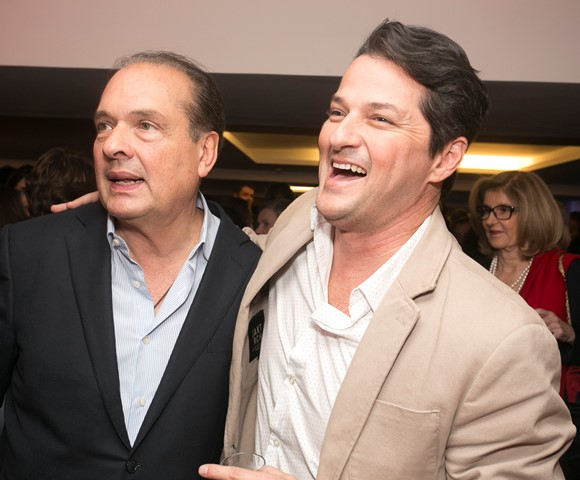 Luiz Severiano Ribeiro e Marcelo Serrado