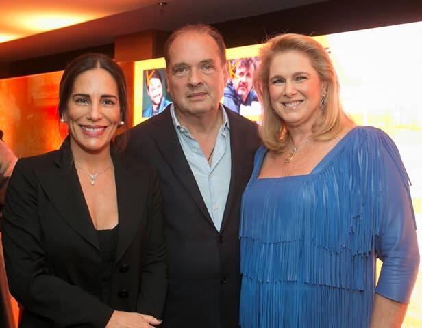 Glória Pires, Luiz e Glória Severiano Ribeiro