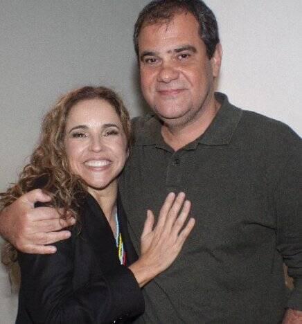 """""""CANIBÁLIA"""" — DANIELA MERCURY E LUIZ OSCAR /Foto: Fred Pontes"""