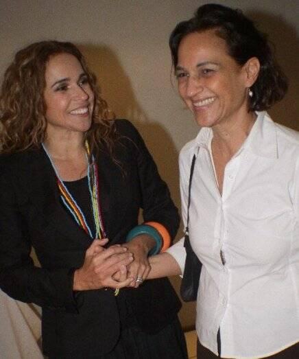 """CANIBÁLIA"" — DANIELA MERCURY E MARIA PAULA /Foto: Fred Pontes"