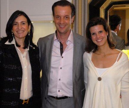 """""""CASA COR"""" — ANNA CLARA HERMANN, ALEXIS DE VAULX E LOU PALHARES /Foto: Paulo Jabur"""