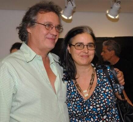 """""""CÉLIA EUVALDO"""" — PAULO E BETH JOBIM /Foto: Paulo Jabur"""