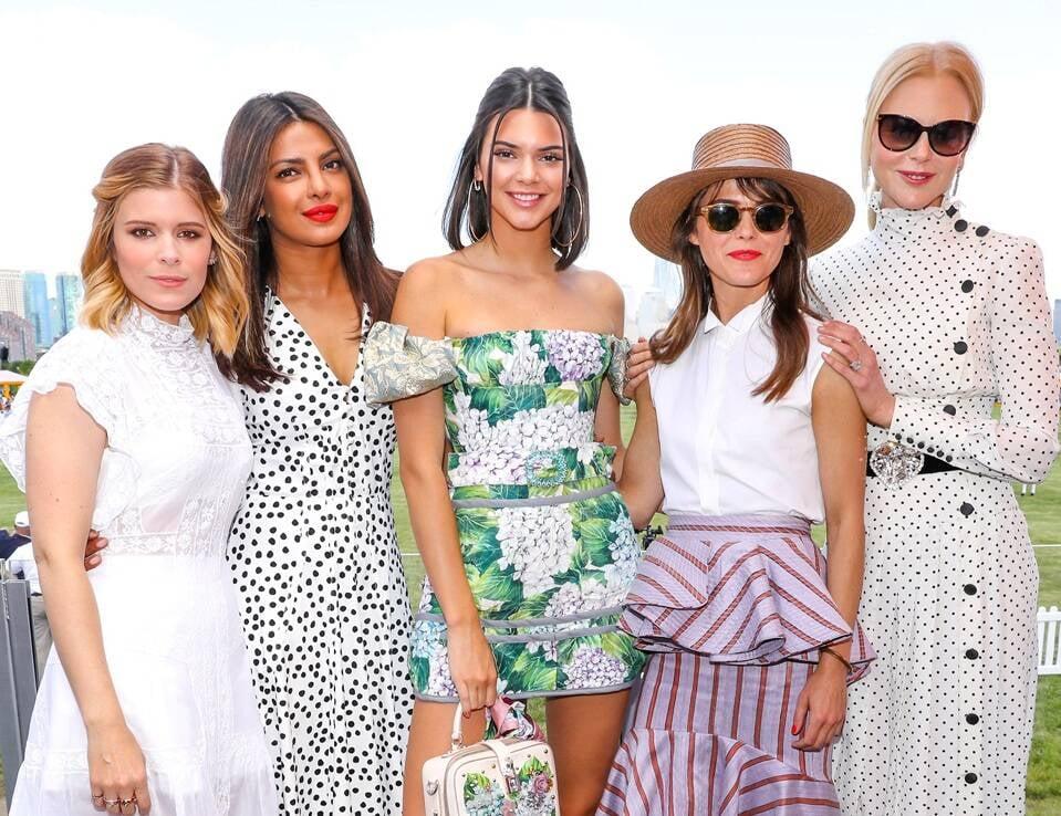 Kate Mara, Priyanka Chopra, Kendall Jenner, Keri Russel e Nicole Kidman