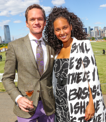 Neil Patrick Harris e Alicia Keys