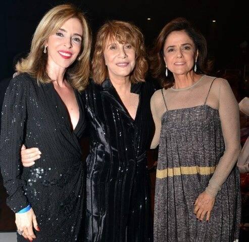 Débora Evelyn, Renata Sorrah e Marieta Severo