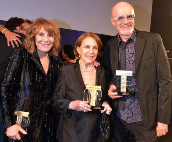 Renata Sorrah, Suzana Faini e Marcos Caruso