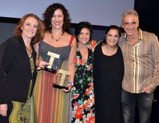 Norma Thiré, Andrea Alves, Maria Siman, Bianca de Felippes e Fernando Libonati
