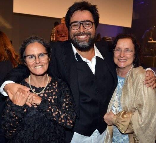Bia Lessa, Eduardo Barata e Tania Brandão
