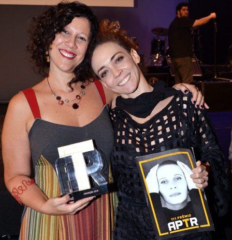 Andrea Alves e Laila Garin