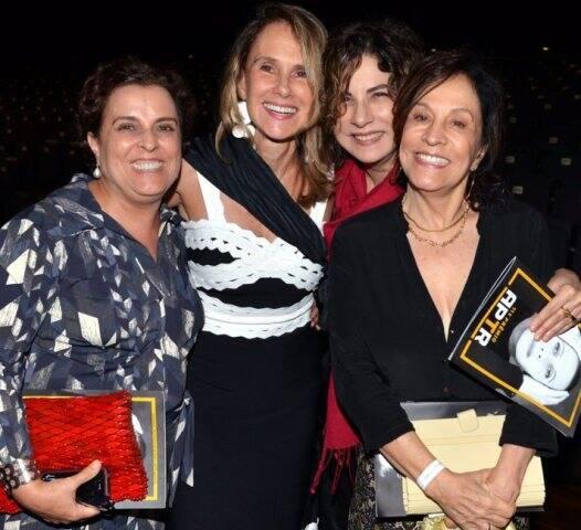 Guida Vianna, Xuxa Lopes, Denise Bandeira e Stella Miranda