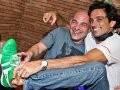 """""""GOLA, NA AVEC HOMME"""" — O DJ MARCELO VR E LUIZ TEPEDINO: ISSO É QUE É ESFORÇO DE MARKETING /Foto: Bruno Ryfer"""