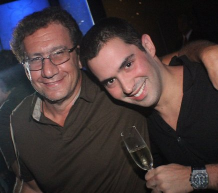 """BAR DO COPA"" — MAURICIO SAADE E JULIO LUNDGREN / Foto: Fred Pontes"