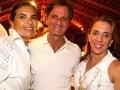 """""""INSÓLITO"""" — CRISTINE SIMONETTI, EDGAR MOURA BRASIL E MONICA MARINHO /Foto: Vera Donato"""