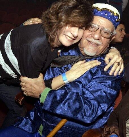 Denise Bandeira e Amir Haddad