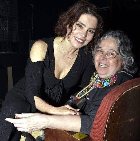 Françoise Forton e Camila Amado