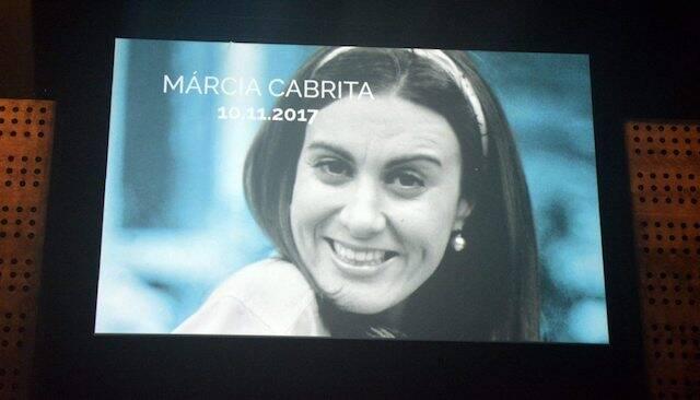 Homenagem a atriz Márcia Cabrita, que morreu em novembro do ano passado