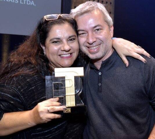 Bianca de Felippes e Paulo César Medeiros