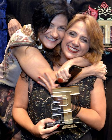 Maria Siman e Letícia Isnard