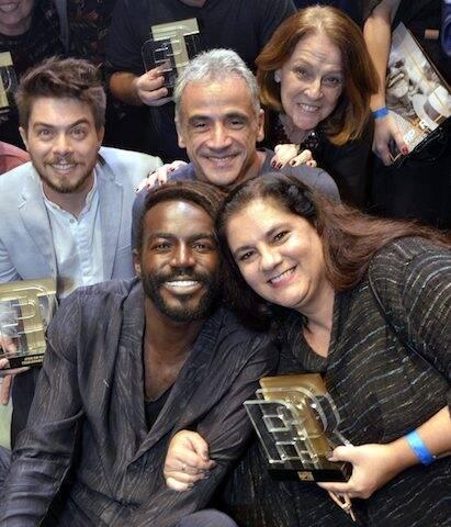 Fábio Enriquez, Fernando Libonati, Norma Thiré, Jonathan Azevedo e Bianca de Felippes