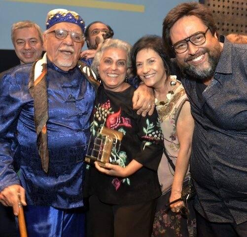 Amir Haddad, Guida Vianna, Maria Siman e Eduardo Barata